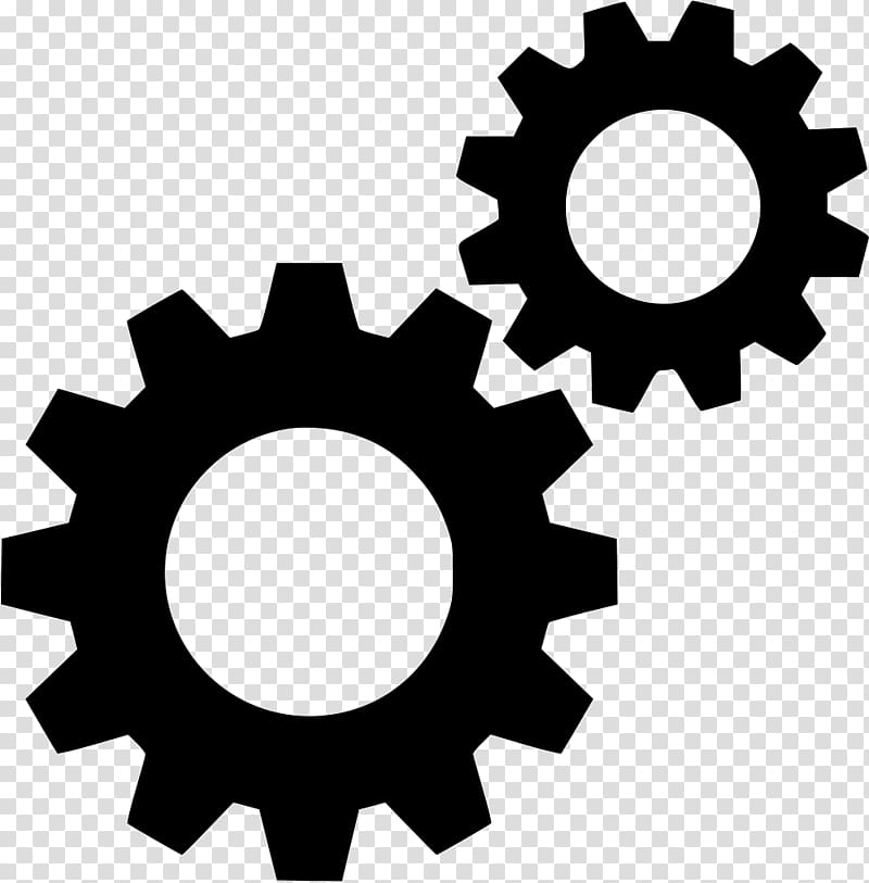 Computer Icons Gear Symbol, engine transparent background.