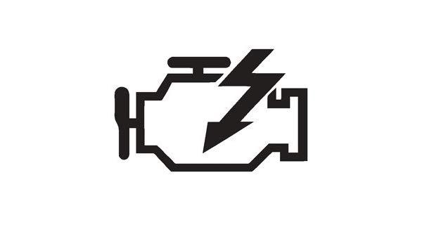 Amazon.com: Check Engine Light CEL Logo Vinyl Sticker Decal.