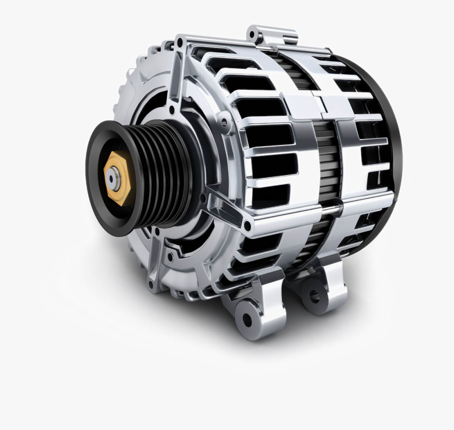 Alternator Engine Car Vehicle Parts Part Spare Clipart.