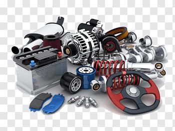 Automotive Engine Part cutout PNG & clipart images.