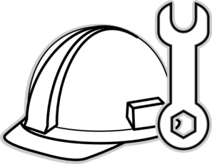 Free Engineer Clipart Black And White, Download Free Clip.