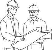 Engineer clipart black and white 5 » Clipart Station.