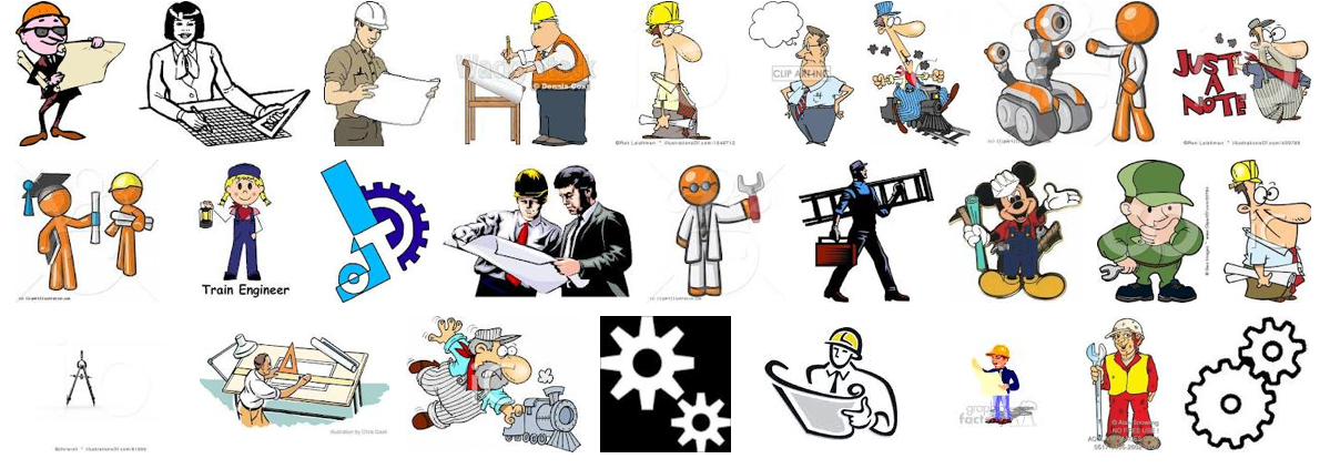 Engineer Clipart Male.