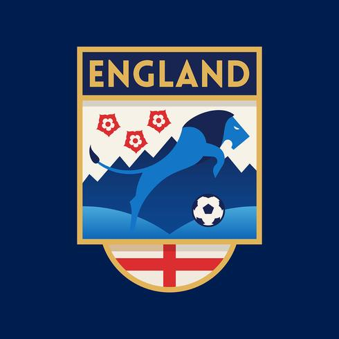 England World Cup Soccer Badge.