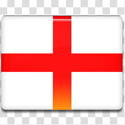 All in One Country Flag Icon, England.