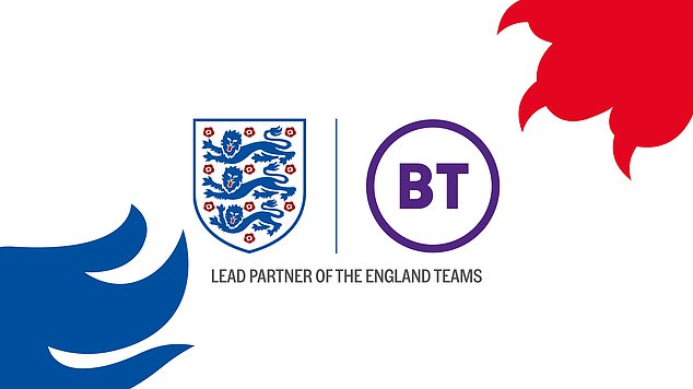 FA sign £50m BT deal with logo to feature on all England.