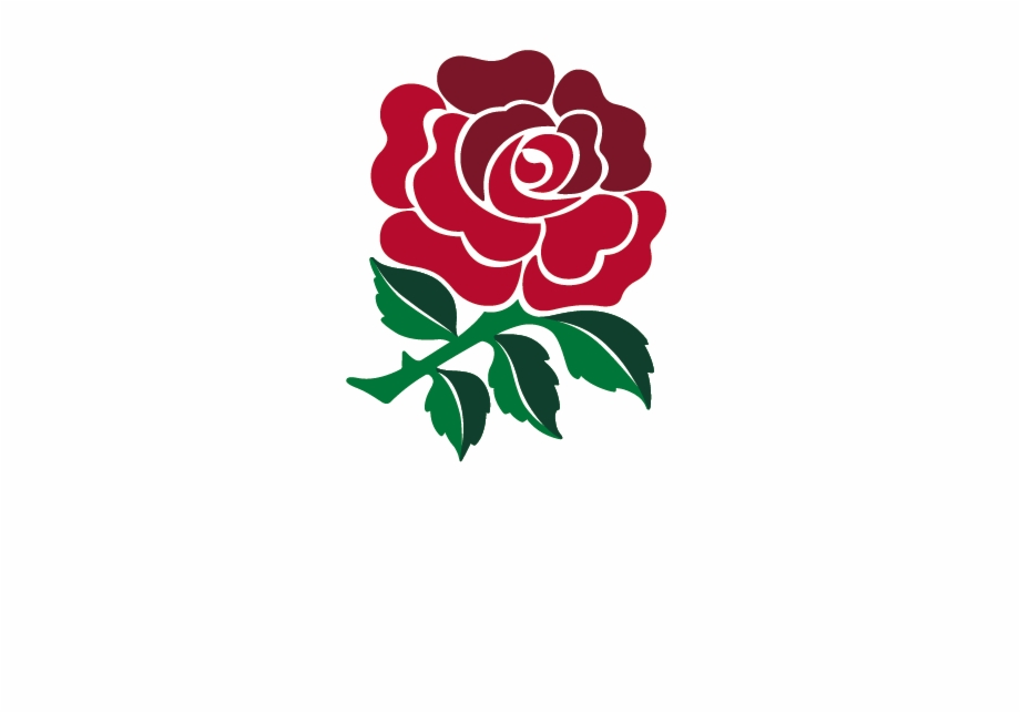 England Rugby Travel Primary Reverse Logo English Rose.