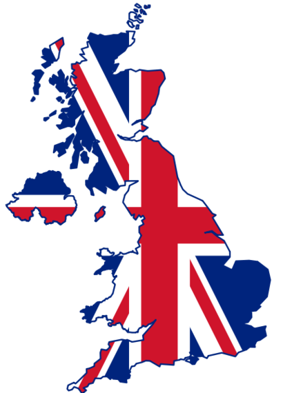 Uk Clipart Map.