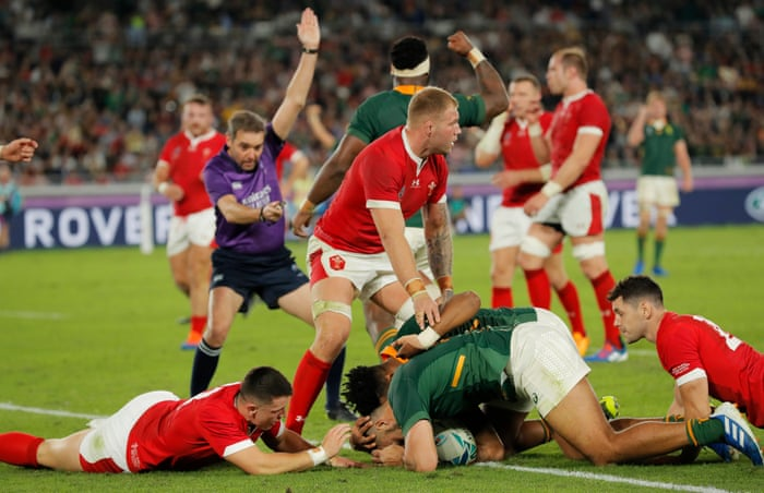 South Africa to face England in Rugby World Cup final after.