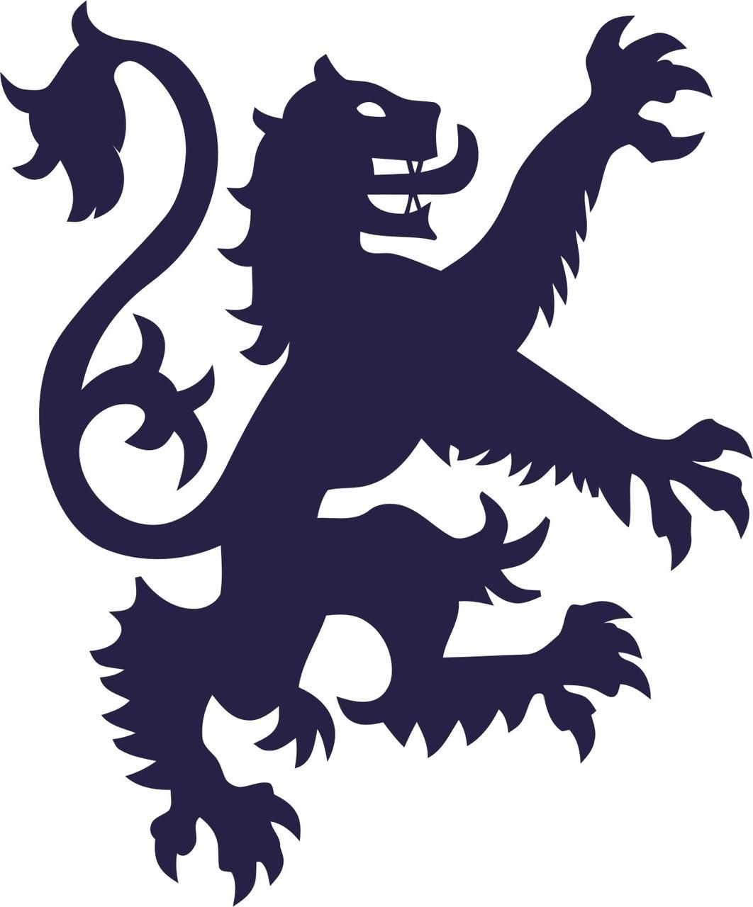 England's lion clipart #4