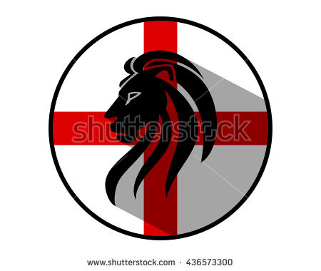 3 Lions England Stock Photos, Royalty.