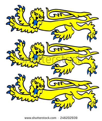 Three Lions Stock Photos, Royalty.