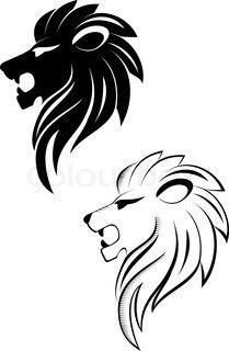 Heraldic lion of england tattoo.