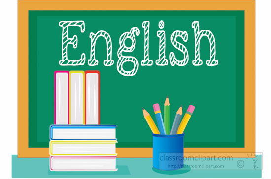 English clipart school.