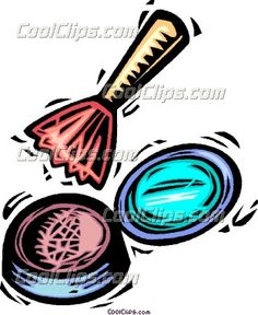 English And Cosmetology Class Clipart.