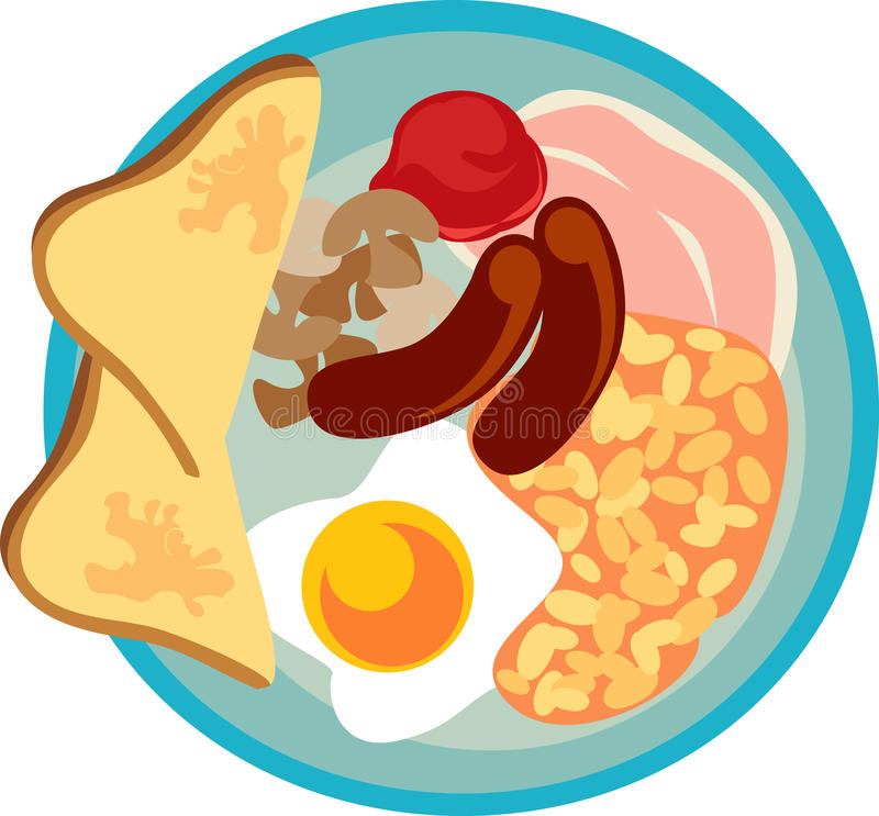 English breakfast clipart » Clipart Station.