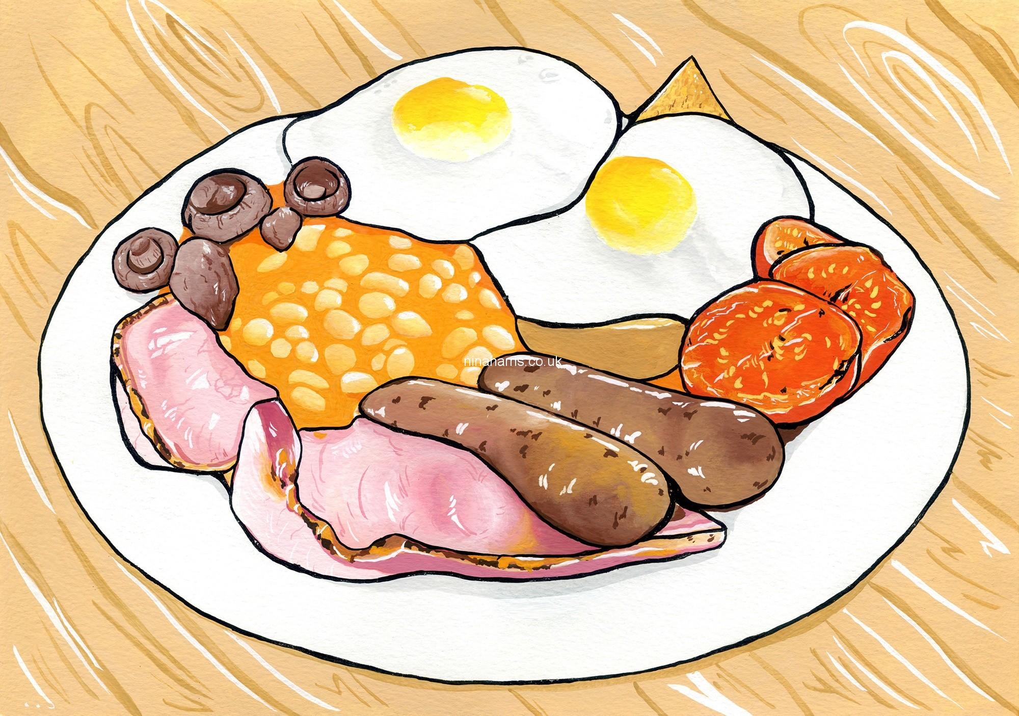 Breakfast clipart english breakfast, Picture #124770.