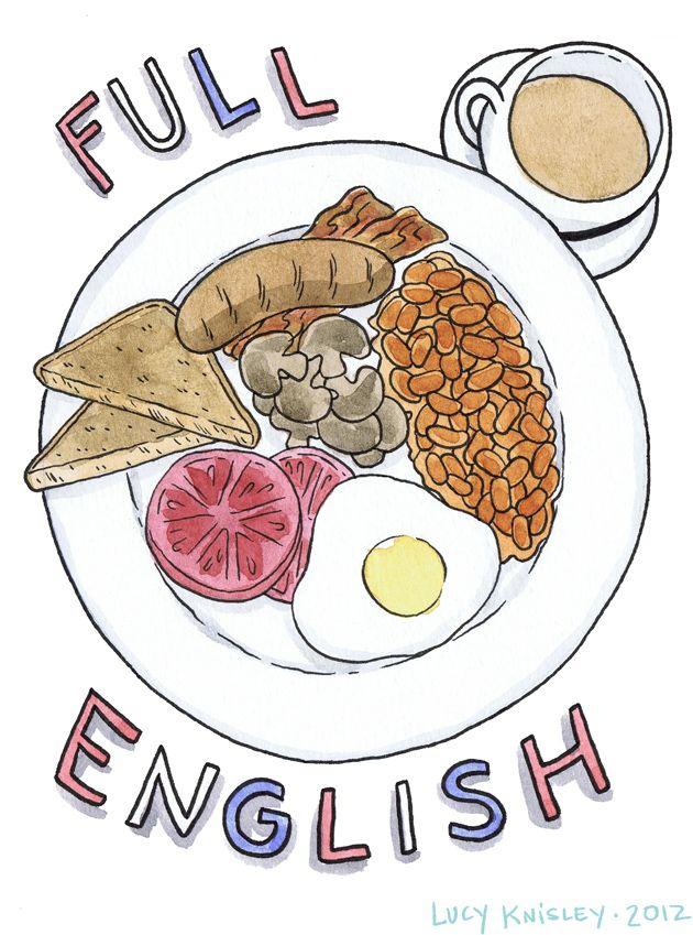 Breakfast clipart english breakfast, Breakfast english.