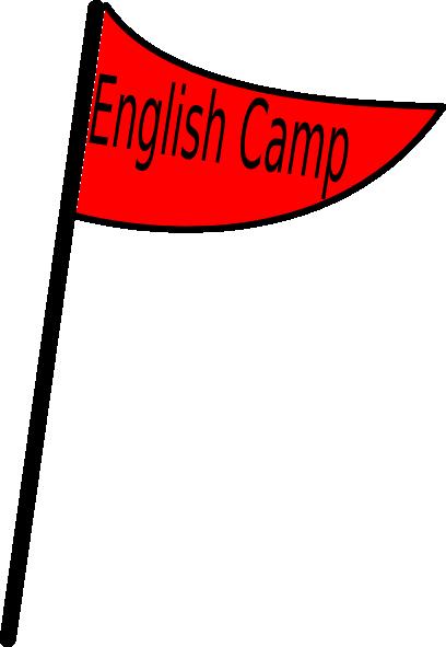Red Flag English Camp Clip Art at Clker.com.