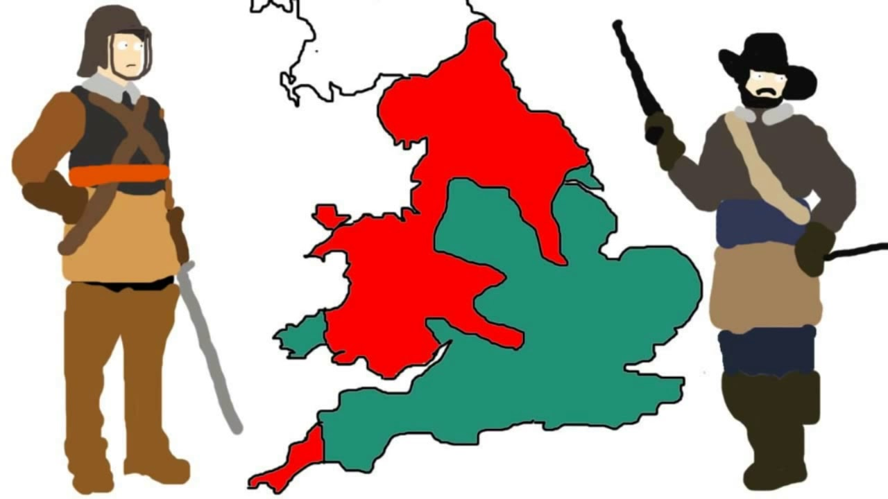 English Civil War 3 Minute History.