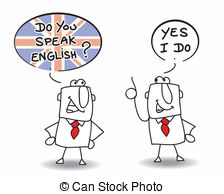 English Conversation Clipart.
