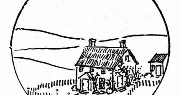 English Cottage Clip Art