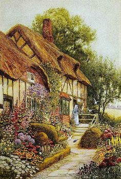 English Cottage Clipart Clipground