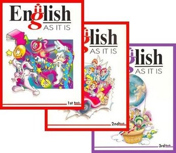 English • AS IT IS • English Course • Books 1.