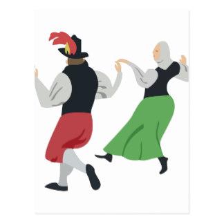 Folk Dance Postcards.