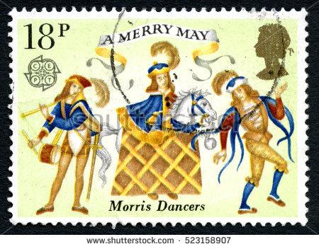 Morris Dancers Stock Photos, Royalty.