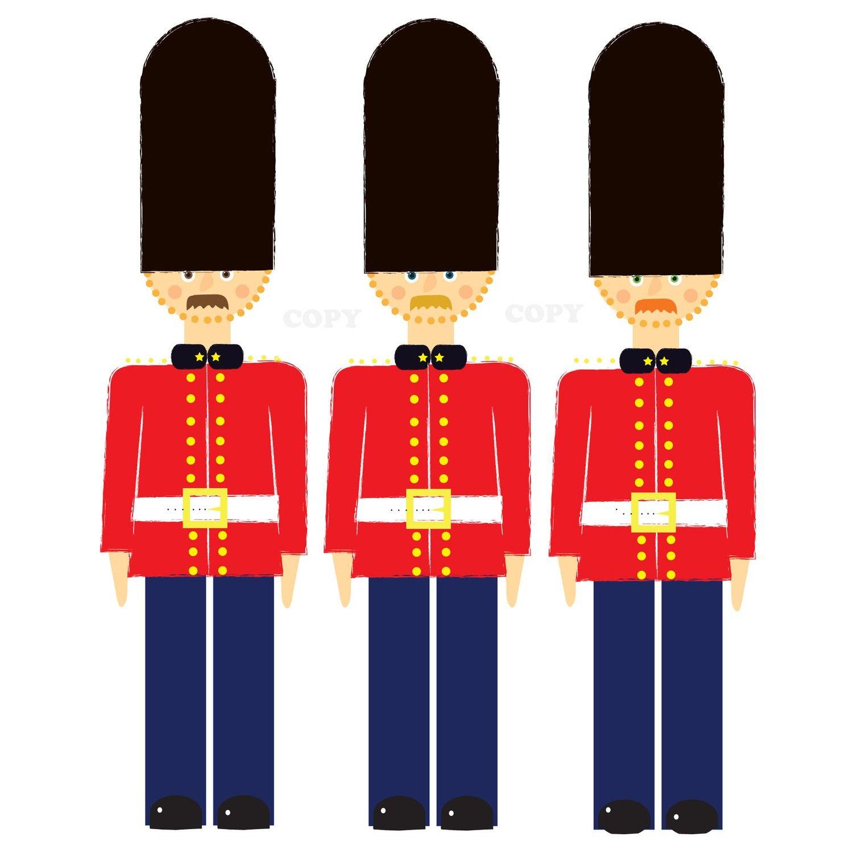 Royal Scots Guard.