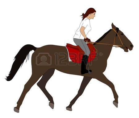 4,019 Horseback Riding Stock Illustrations, Cliparts And Royalty.