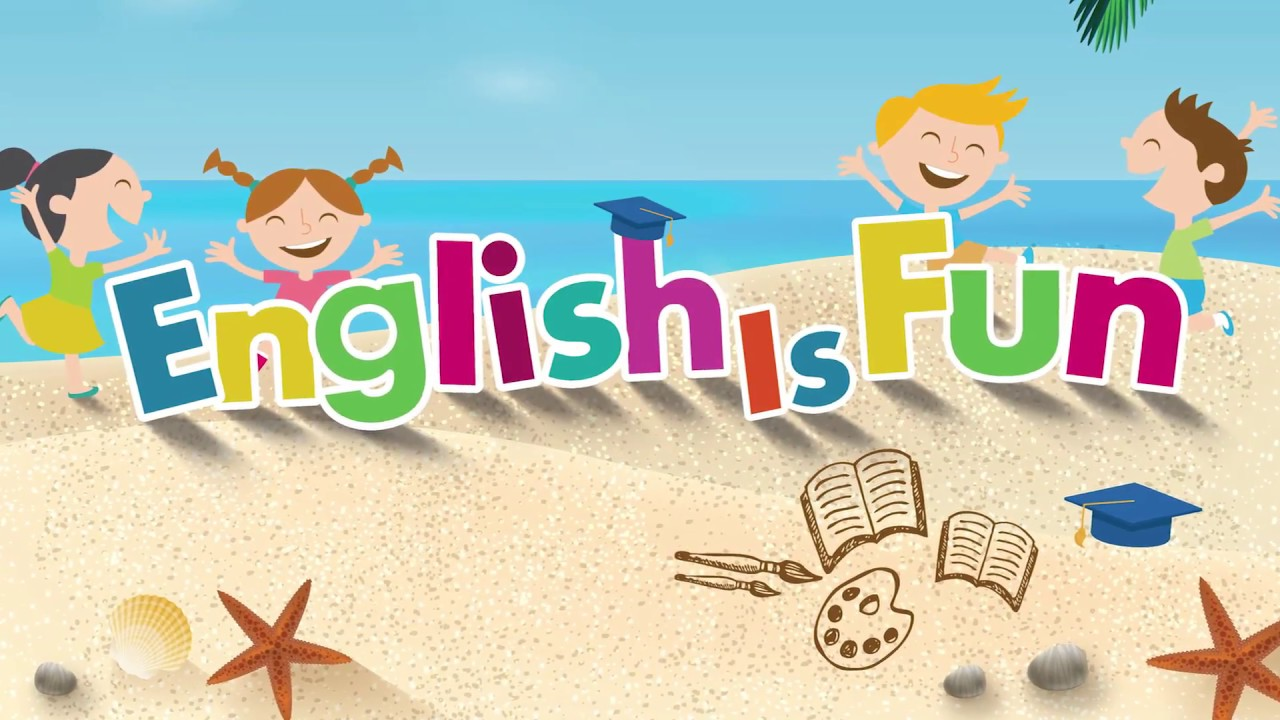 English Is Fun Clipart.