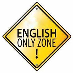 We love English.