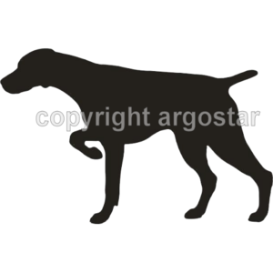 German shorthaired pointer clipart.