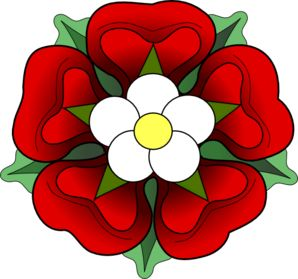 Official Tudor Rose Clip Art.