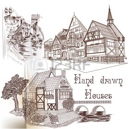 282 English Style House Stock Illustrations, Cliparts And Royalty.