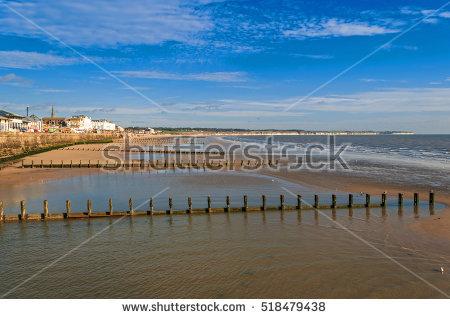 Yorkshire Seaside Stock Photos, Royalty.