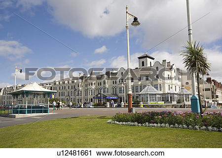 Stock Photography of England, Merseyside, Southport, Seafront.