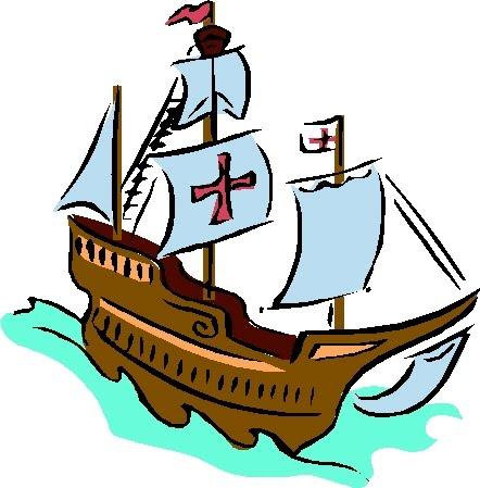 Mayflower clipart boat christopher columbus, Mayflower boat.