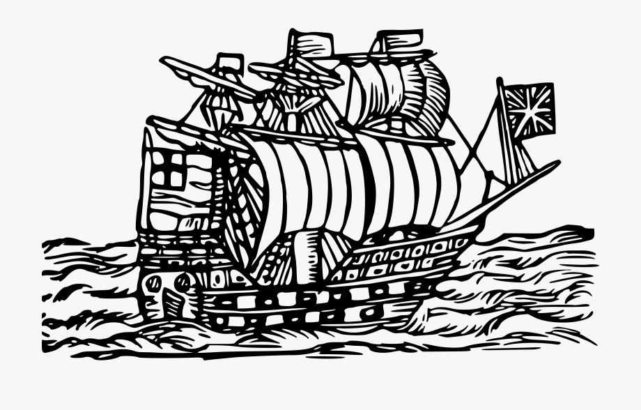 Dagger Clipart Woodcut.