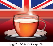 English Tea Clip Art.