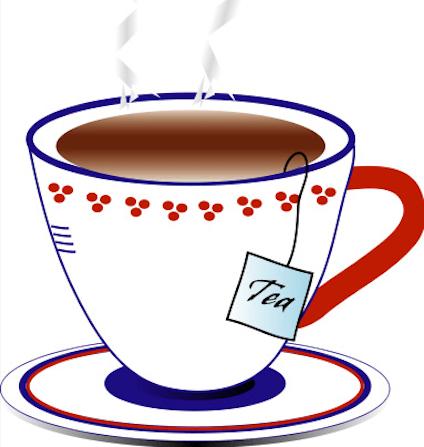 English Tea Cliparts.