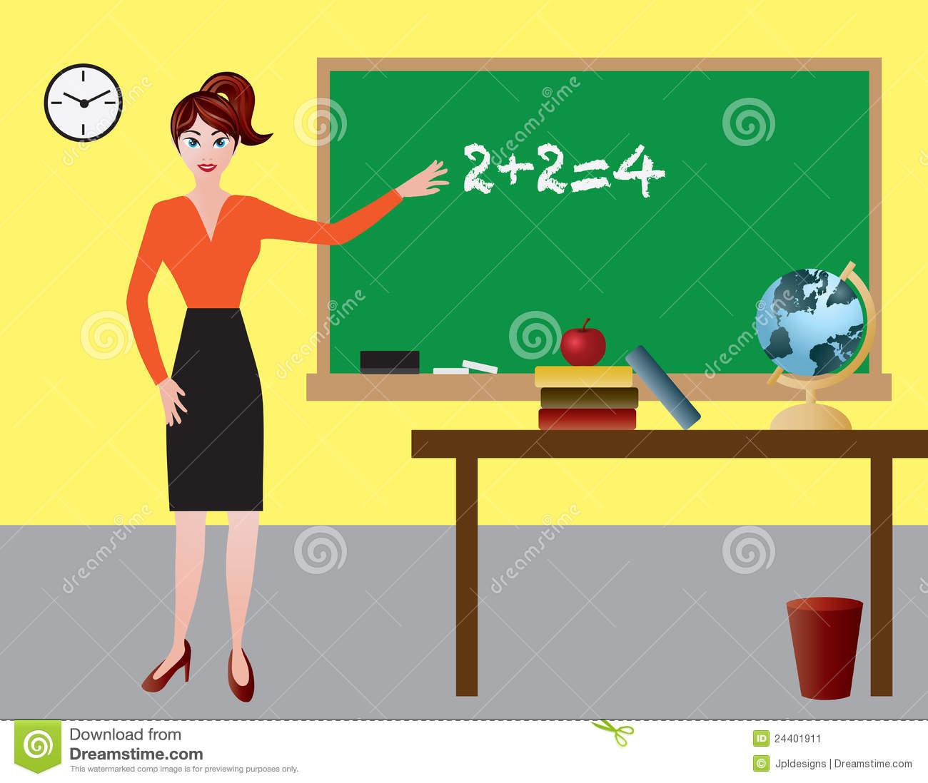 Female english teacher clipart 3 » Clipart Station.
