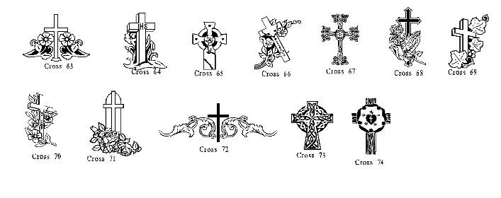 gravestone engraving designs.