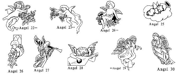Angels Clipart.