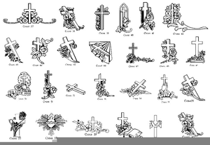 Clipart Headstone Engraving.