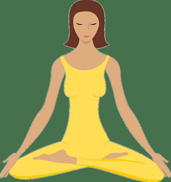 Meditation clipart new year\'s resolution, Meditation new.