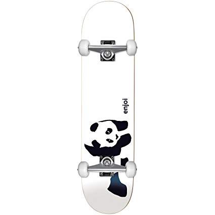 Enjoi HG Panda Logo 6.75Mc Complete, White.