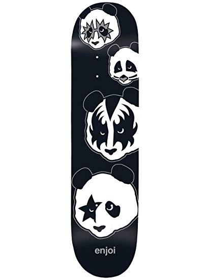 Amazon.com : Enjoi Kiss Logo R7 Skateboard Deck, 8.0, Black.